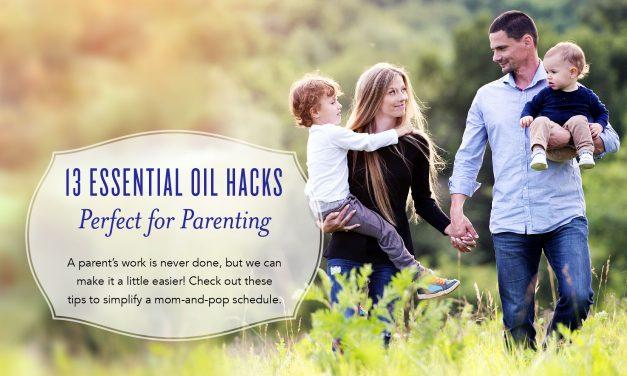 13 Essential Oil Hacks