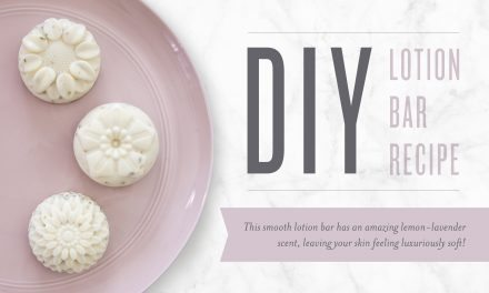 DIY Lotion Bar Recipe